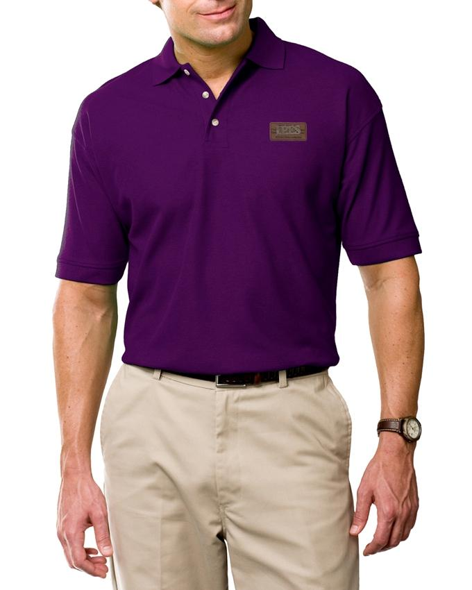 Purple PK Casual Polo For Men