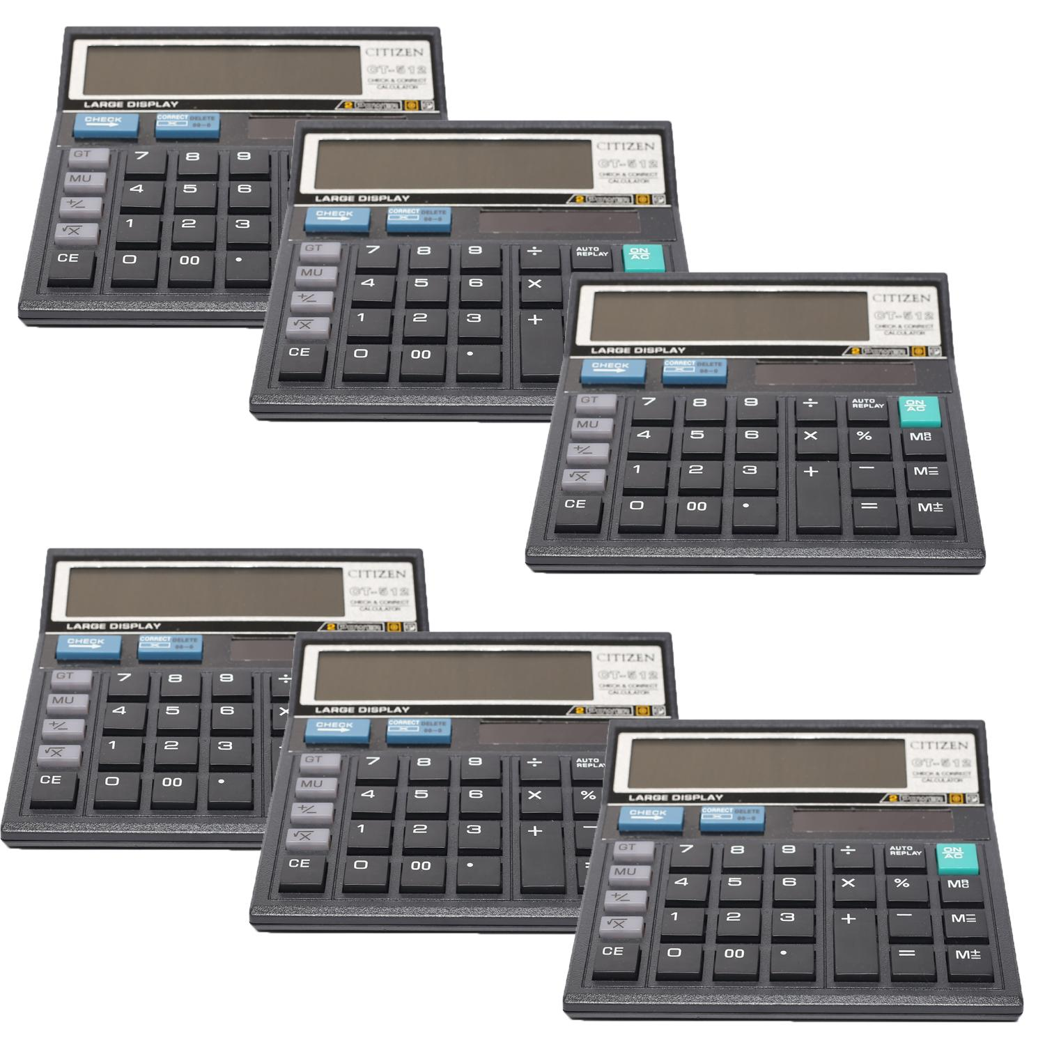 Buy Citizen Home Calculators At Best Prices Online In Bangladesh Calculator Ct 512 12 Digits 6 Pcs