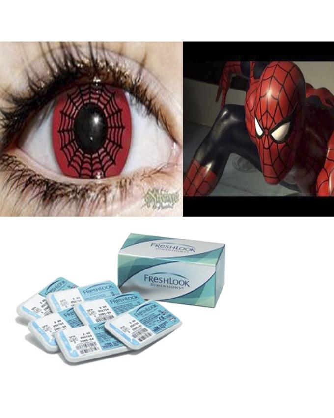 Freshlook Eyewear Contact lens - Spider Red