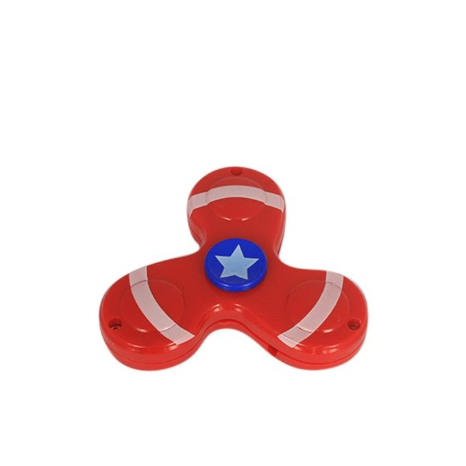 Tri Fidget Spinner - Red and Blue