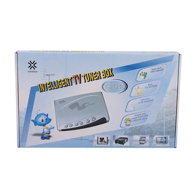 TV Tuner Box - Silver