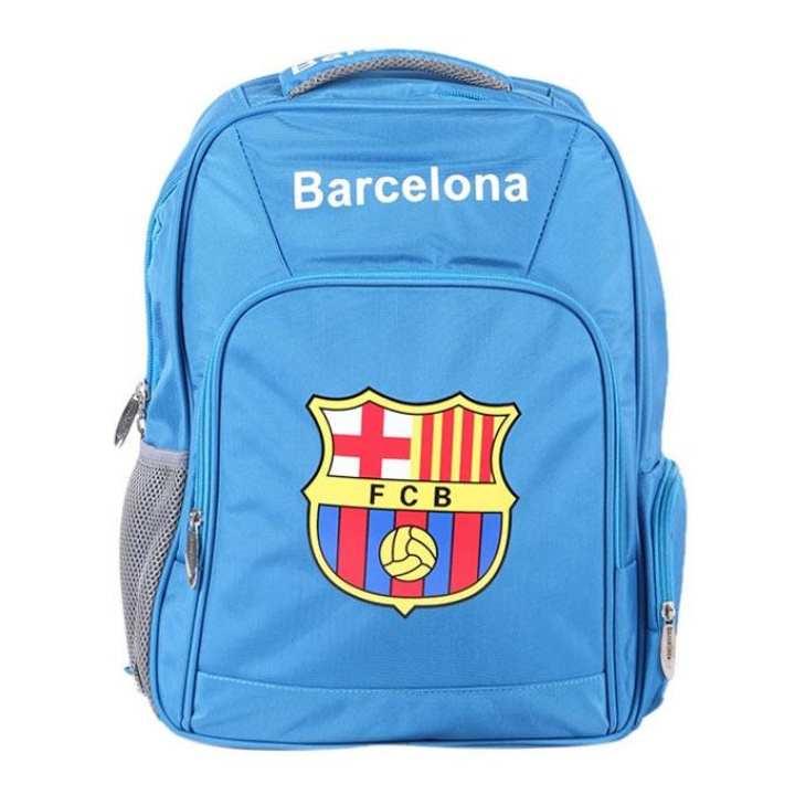 Polyester Backpack For Boys - Sky Blue