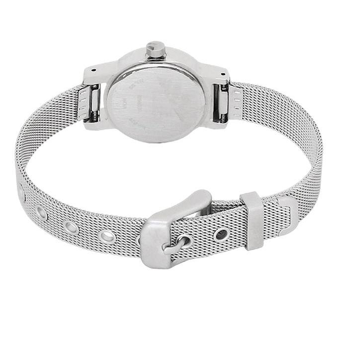 2298SM01 Metal Analog Watch For Women - Silver