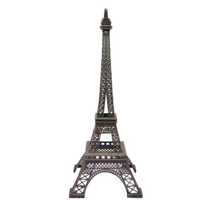 Antique Aloy Antique Eiffel Tower - Grey