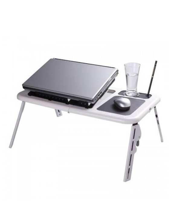 Laptop Bed Desk – Silver