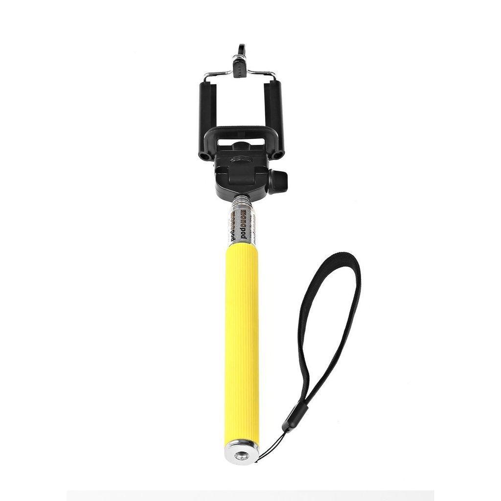 Selfie Monopod Stick - Yellow