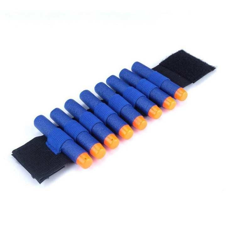 Bandolier For Nerf N-strike Elite Series Soft Bullet Wrist Strap