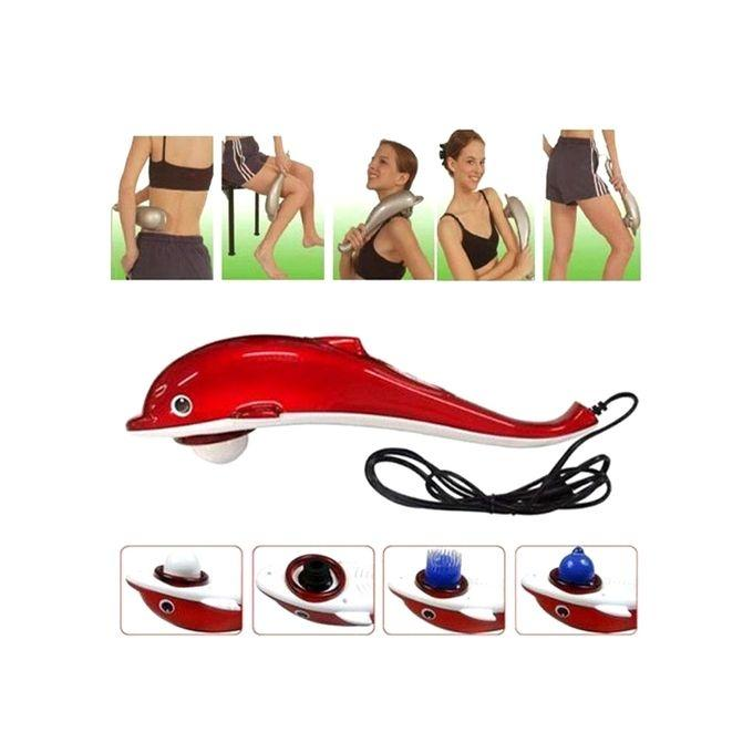 Dolphin Body Massager - Red