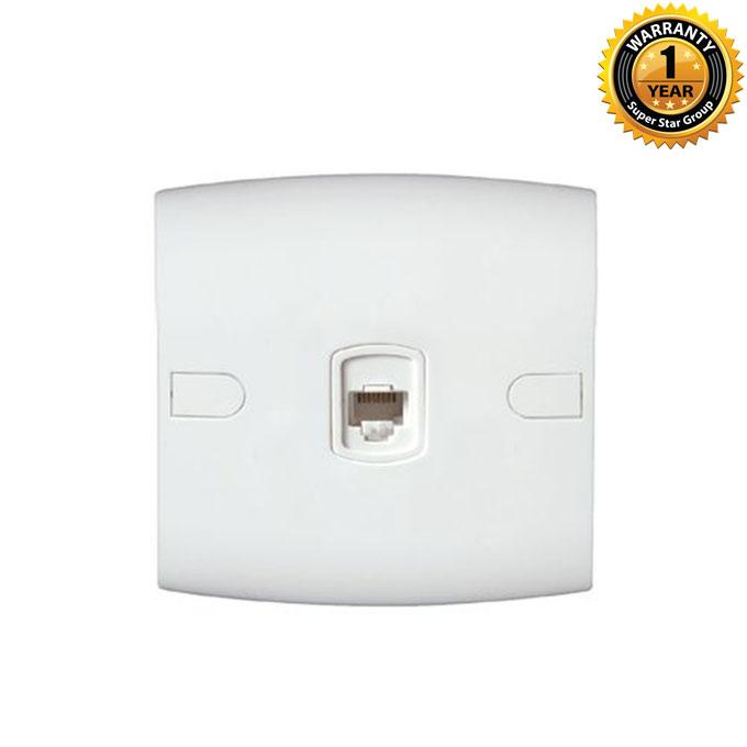 Safe Series Safe Tel Socket - White