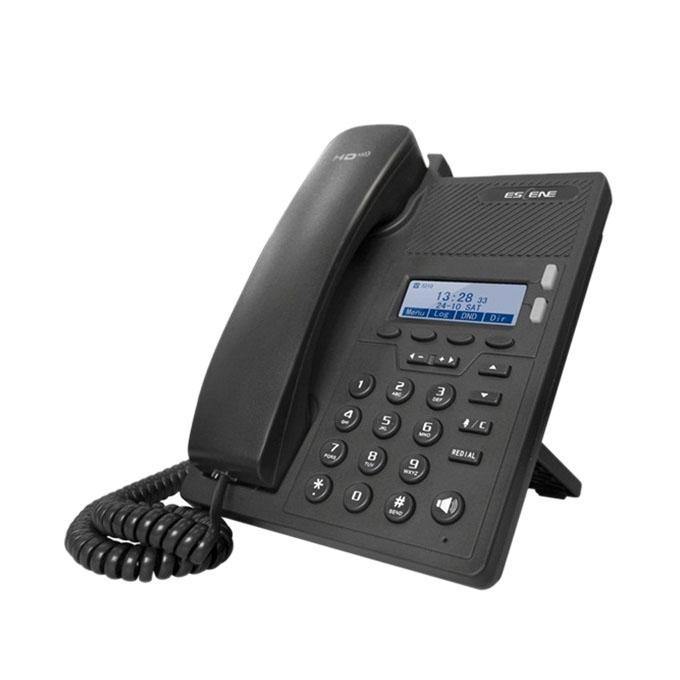 ES205-N Compact Office IP Phone Set - Black