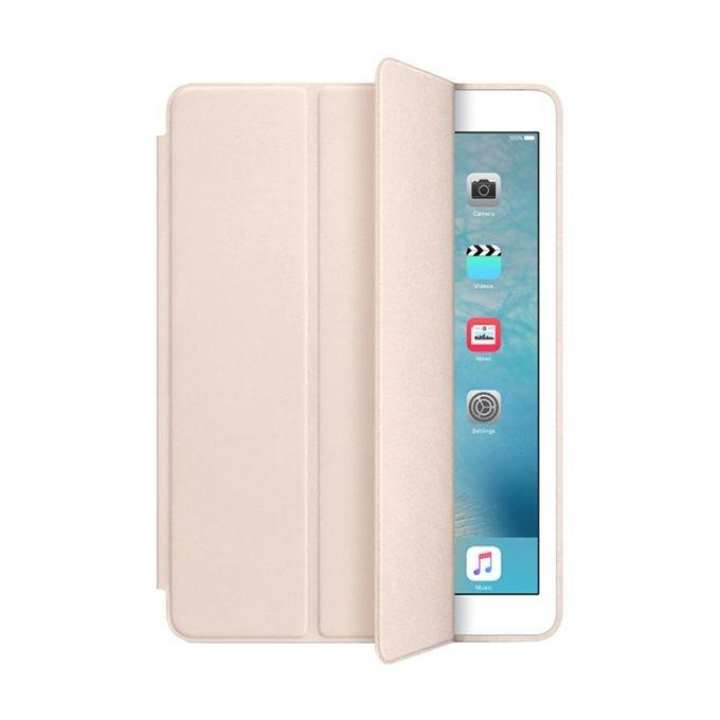 Smart Leather Flip Cover for ipad Air - Gold