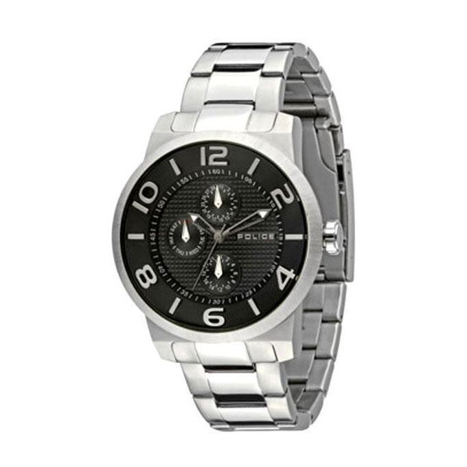 PL.13923JS/02M Stainless Steel Men Chronograph Watch for Men - Black