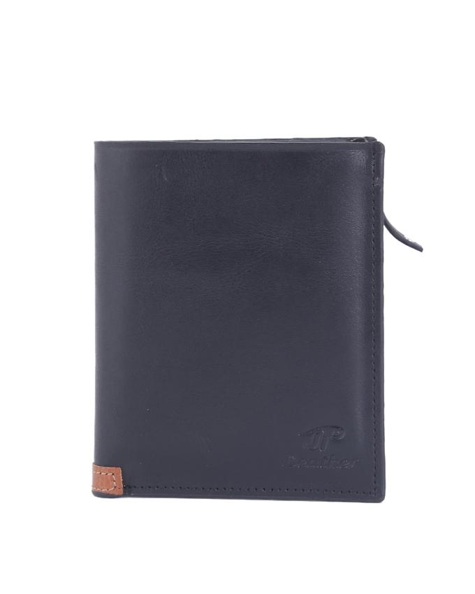 Leather Wallet For Men - Black