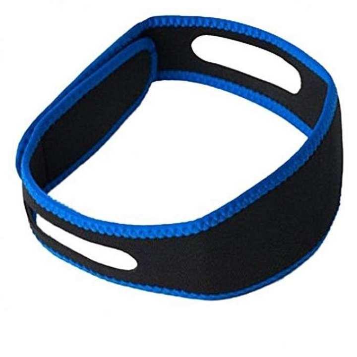 Anti Snoring Sleeping Band - Black and Blue