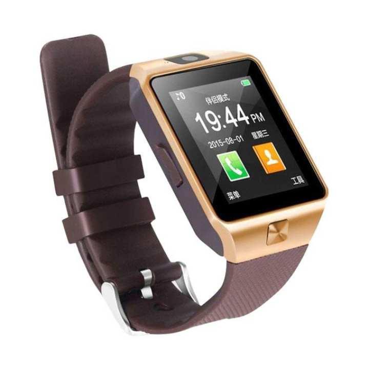GT08 Single SIM Smartwatch - Golden