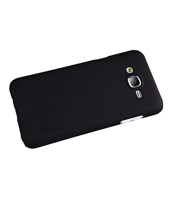 Samsung Galaxy J5 Thin Edition Super Frosted Shield Back Case - Black