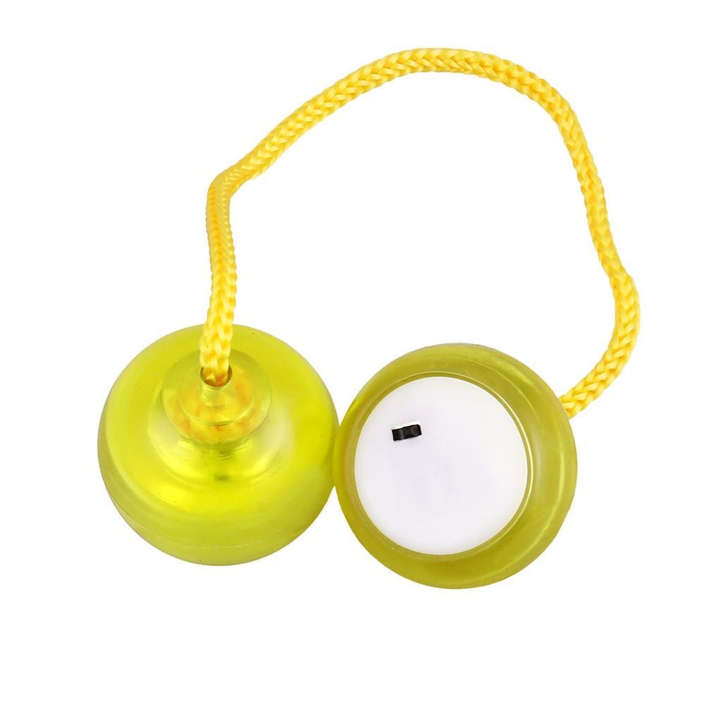LED Flashing Thumb Chucks Control Roll Game Finger Yo-Yo Ball Fidget Beads 4 Colors Thumb Chucks ADHD Anti Stress Novelty Toys-Multicolor