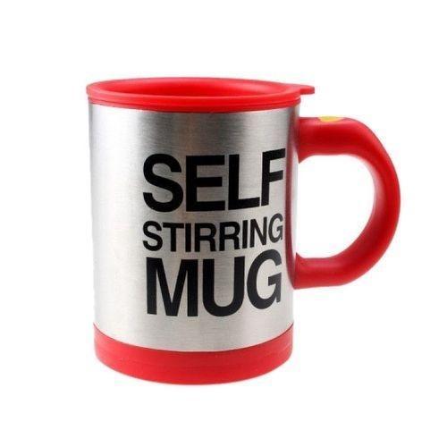 Self Stirring Mug - Red