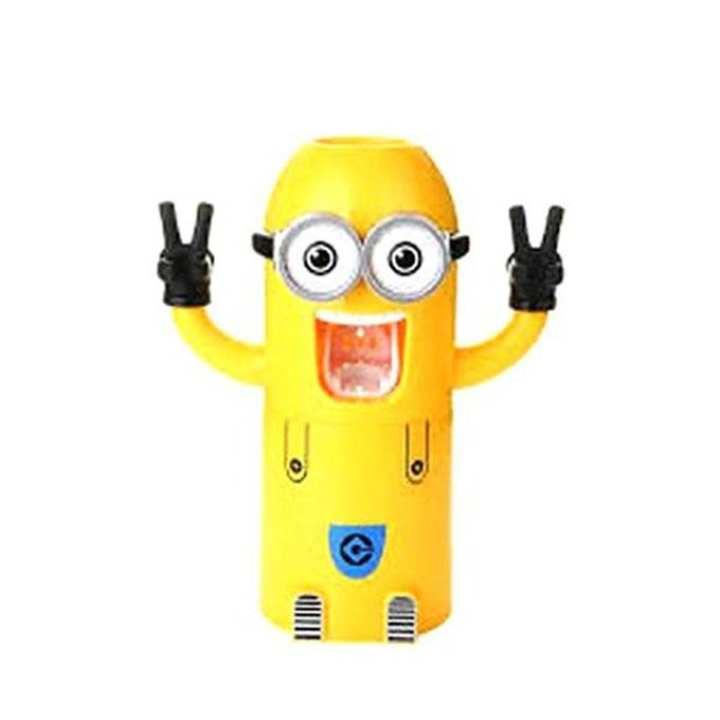 Minion Toothpaste Dispenser - Yellow