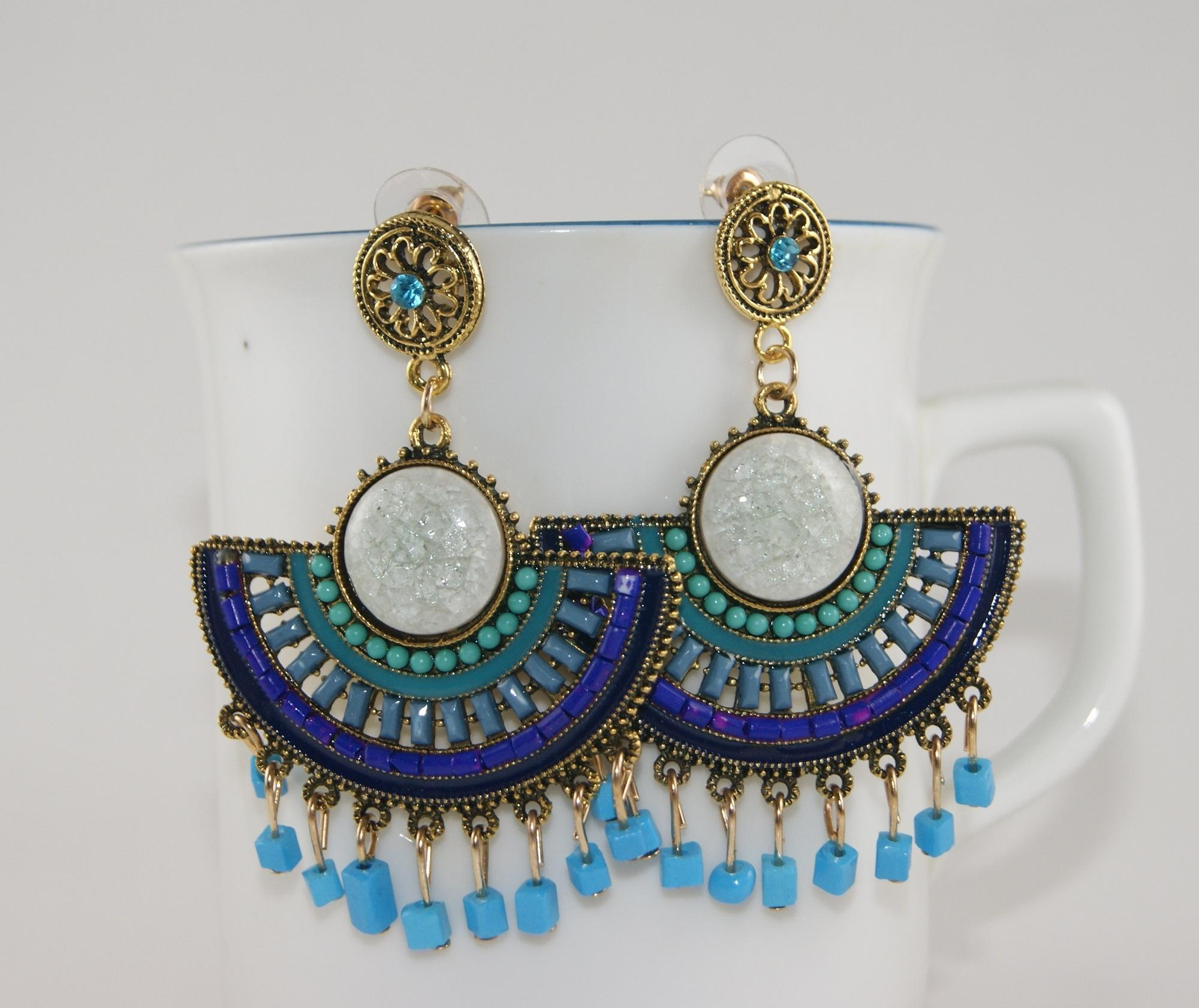 Multi Color Bohemia Fashion Earrings