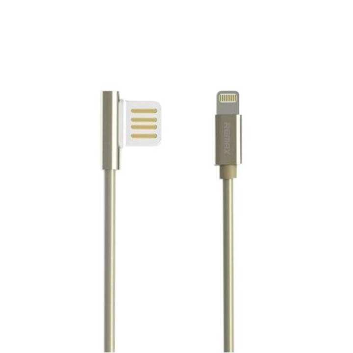 RC-054i Emperor Series Lightning Data Cable for iPhone - Golden