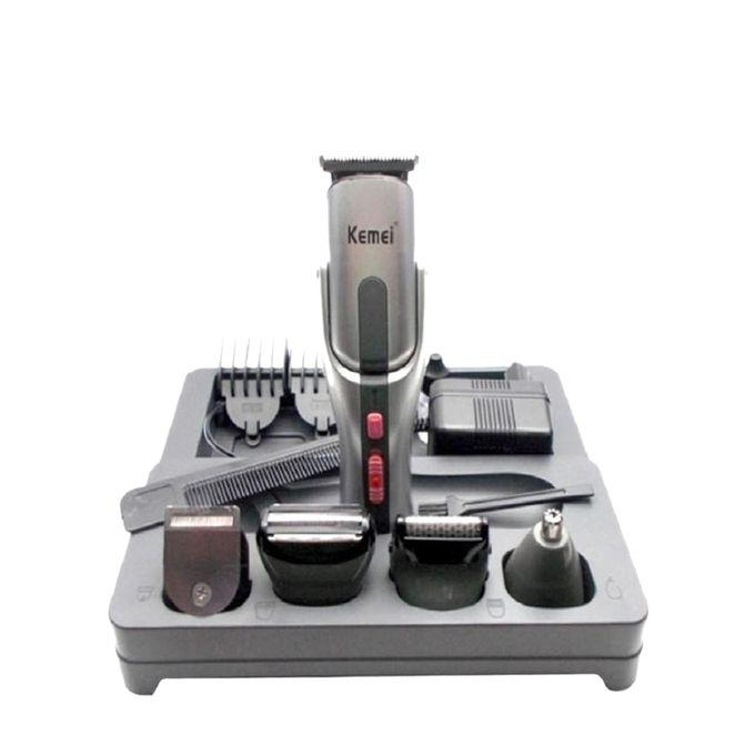 KM-680A 8 In 1 Grooming Kit – Silver