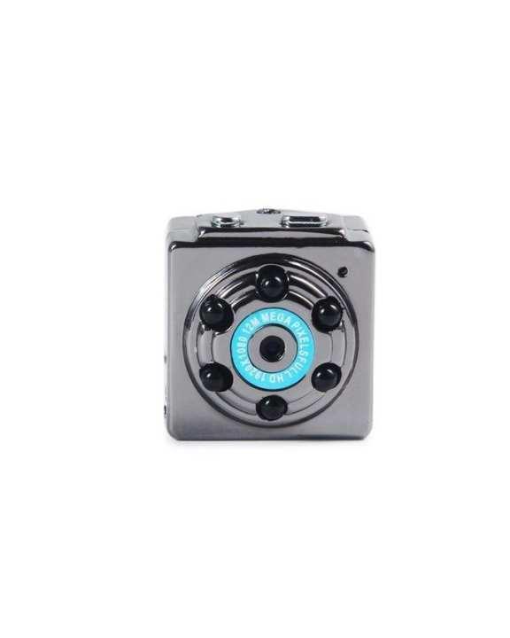 VQ9 Full HD Night Vision Spy Mini Video Camera - Silver