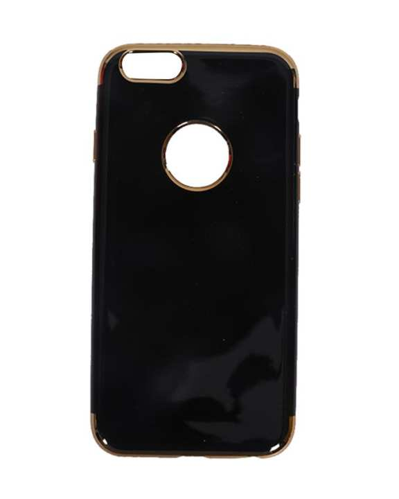 Fashion Case Back Cover For iPhone 6 and 6 plus - Black and Gold
