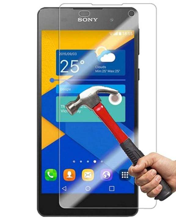 Tempered Glass Protector for Sony Xperia E5 - Transparent