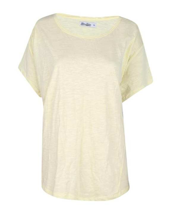 Cotton T-Shirt For Women - Baby Yellow