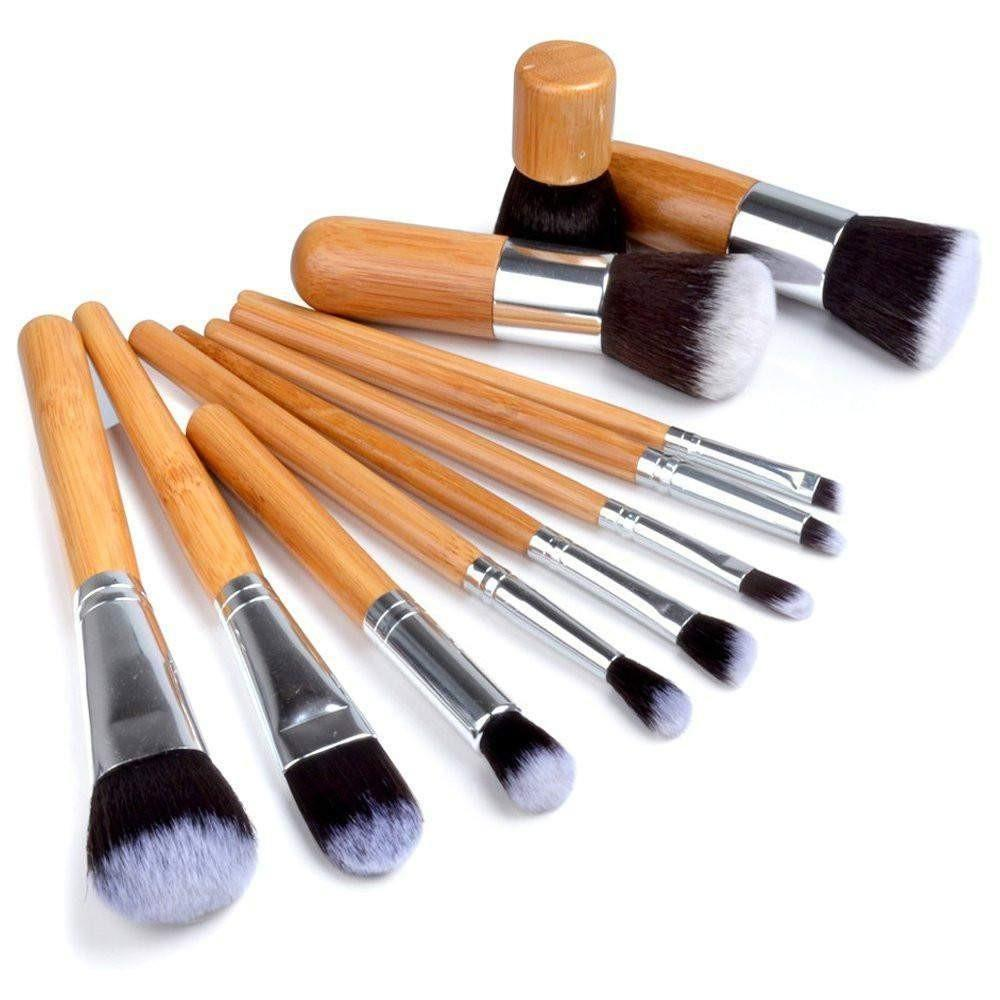 Online Makeup Shopping In Bangladesh At Best Prices Kitty Brush 5 1 Bamboo Set Multi Color