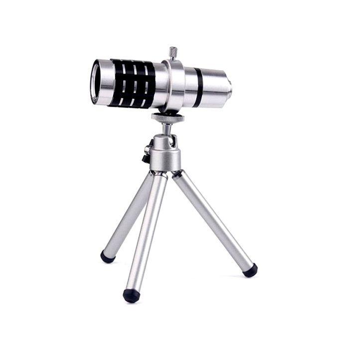 12X Universal Zoom Lens - Silver