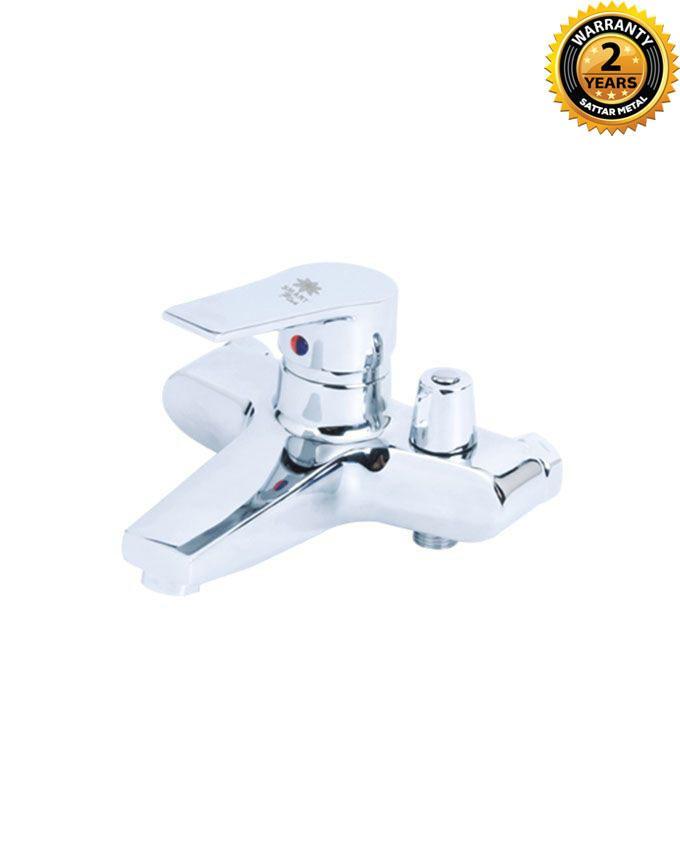 Single Lever Bathtub Mixer (Smart) - Silver