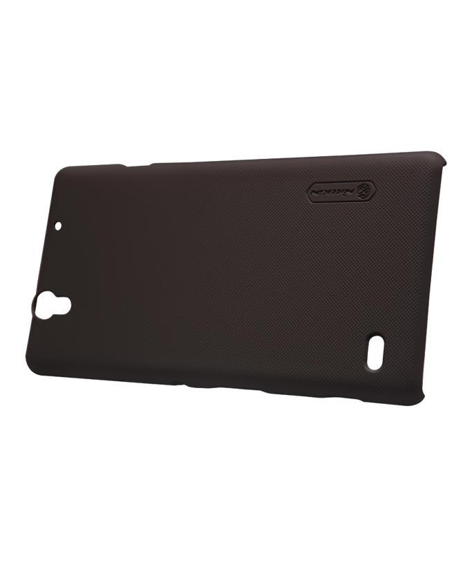 Sony Xperia C4 Super Frosted Shield Back Case - Black