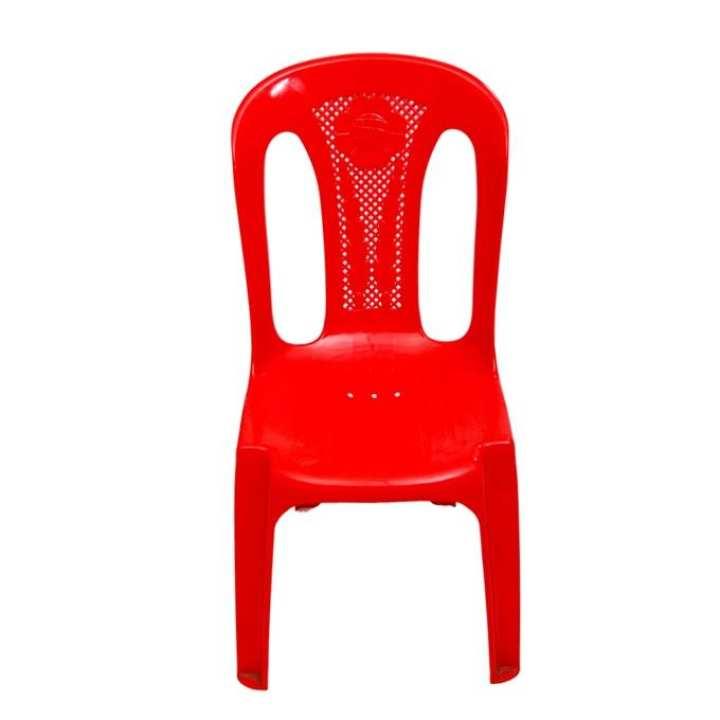 Armless Chair Series - CH-54B - Red