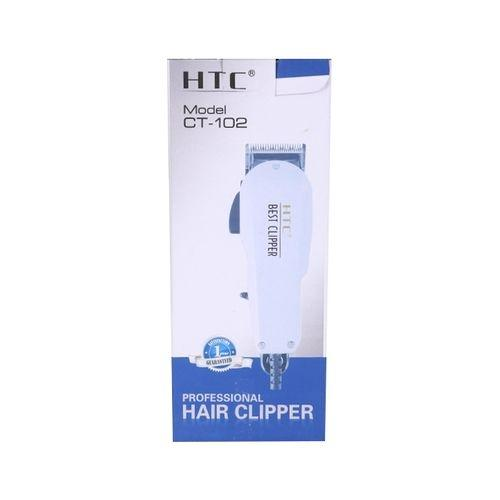 Saloon Professional Hair Clipper For Men CT102 - White