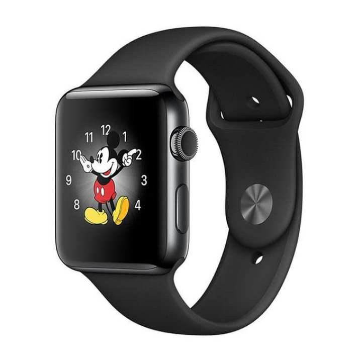 D20 Gear Android Mate Smart Watch Mobile - Black