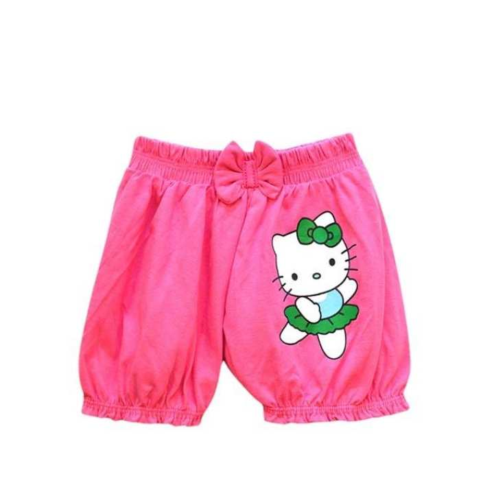 Pink Cotton Pant For Girls