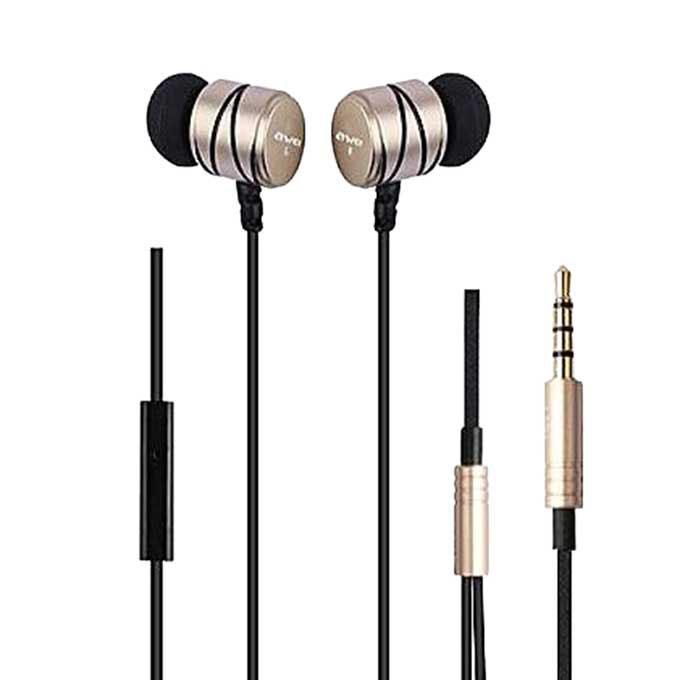 Q5i In-ear Earphone - Gold and Black