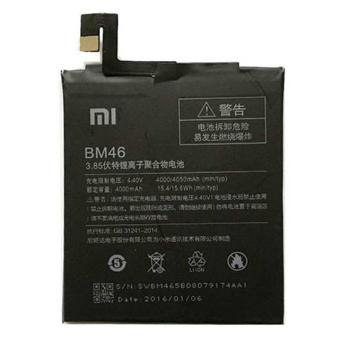 Redmi Note 3 Li-Ion Bm46 Battery 4000mAh - Black