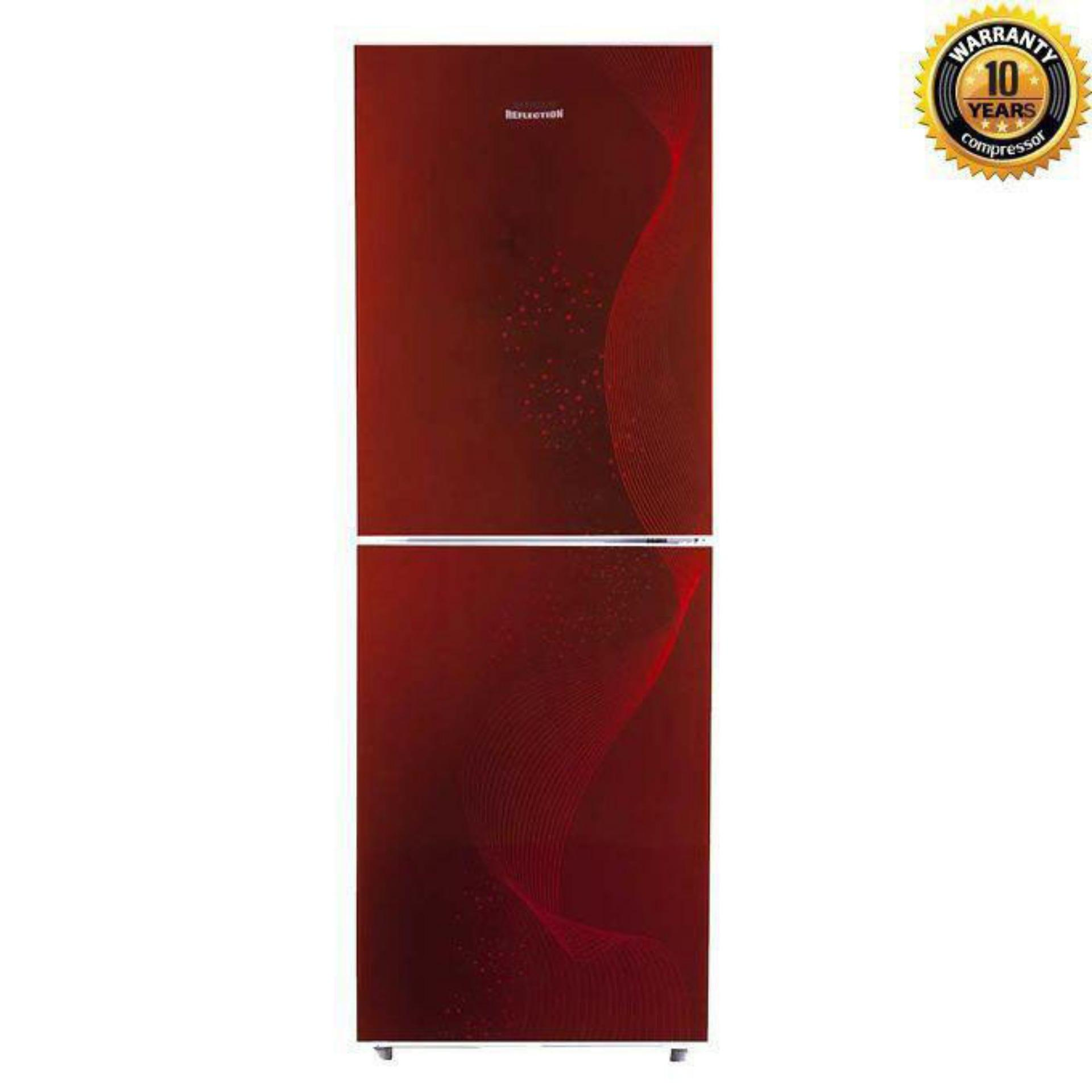 BCD-198R Top Mount Refrigerator 198L - Red
