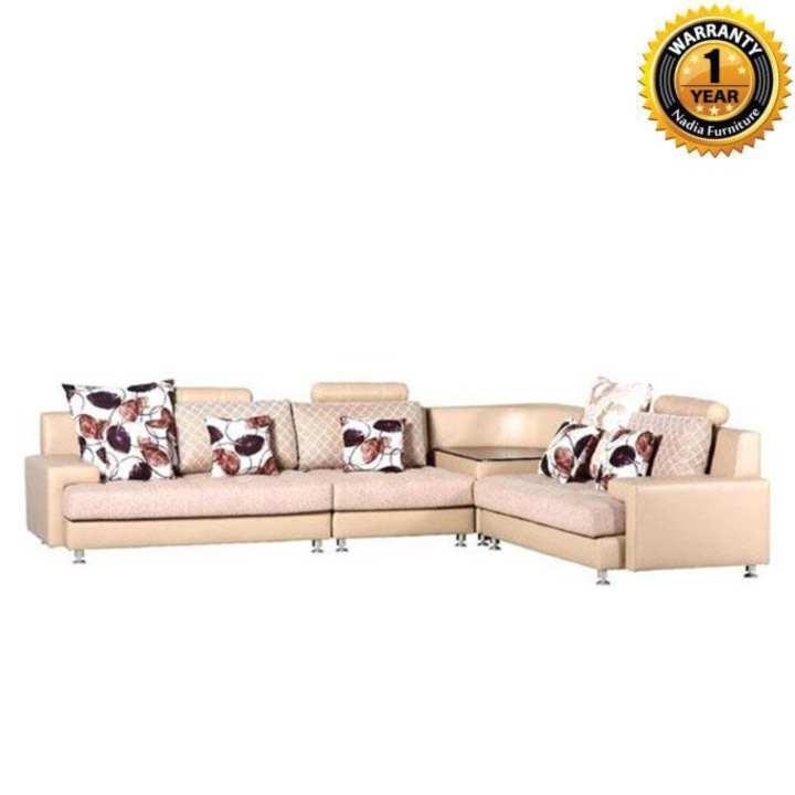 NFL-SS-0339-4 Amazon Corner Sofa - Beige