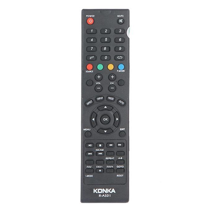 Konka R-A501LED-LCD TV Remote Control - Black