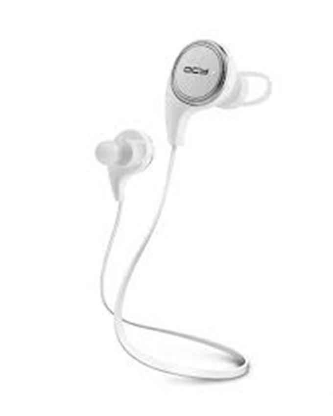QY8 Bluetooth In-Ear Stereo Wireless Earphones - White