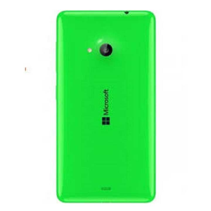 Back Shell Cover Case for Microsoft Lumia 435 - Green