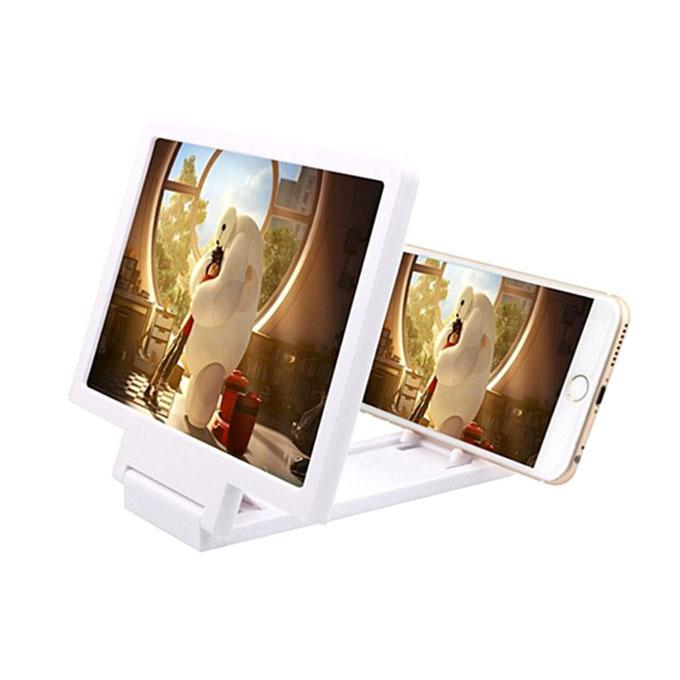 3D Enlarged Screen - White