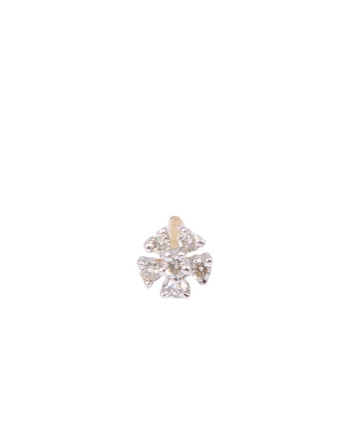 "Diamond Nosepin ""White Tangale 6 Stone"""