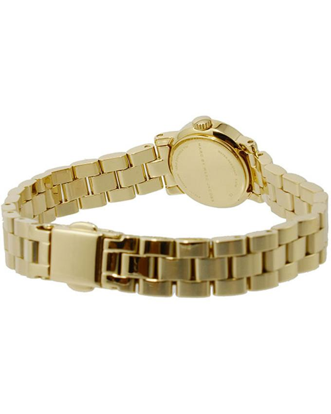 Metal MBM3226 Amy Dinky Analogue Watch For Women - Gold