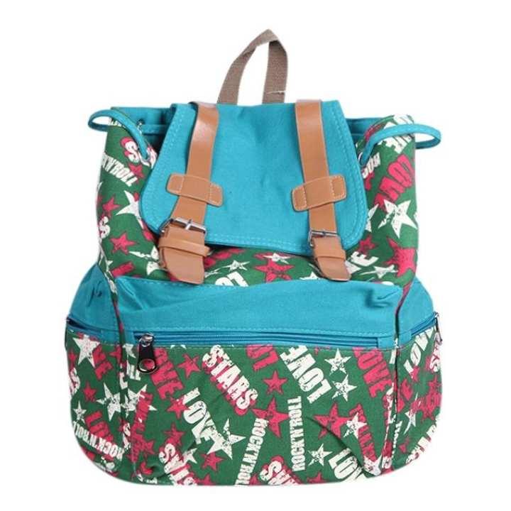 Multi Color Polystar Backpack For Women
