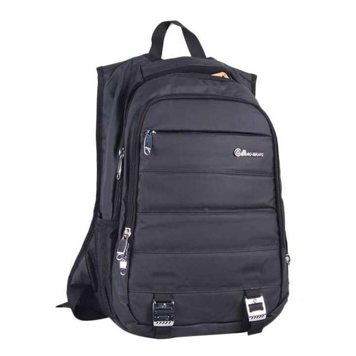 Polyester Backpack For Men - Black